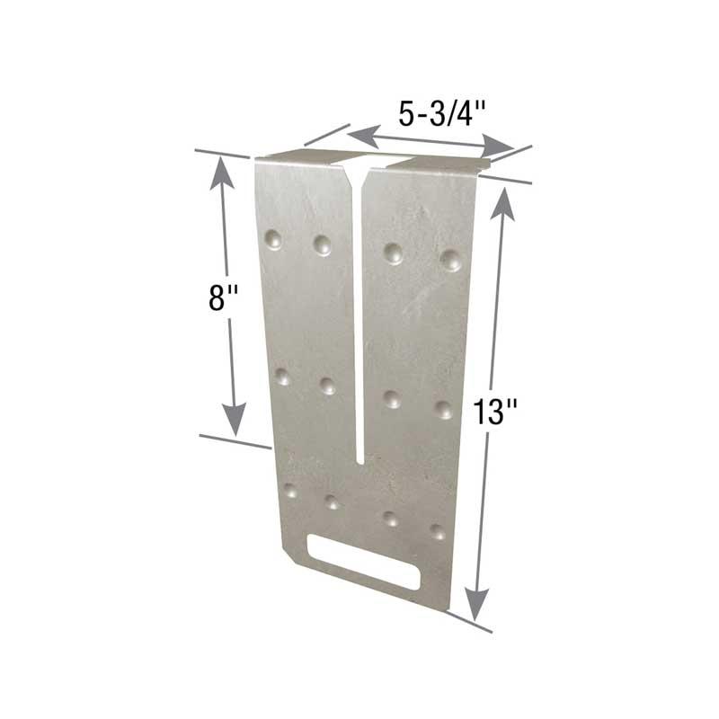 Typical FWH solid sawn header installation
