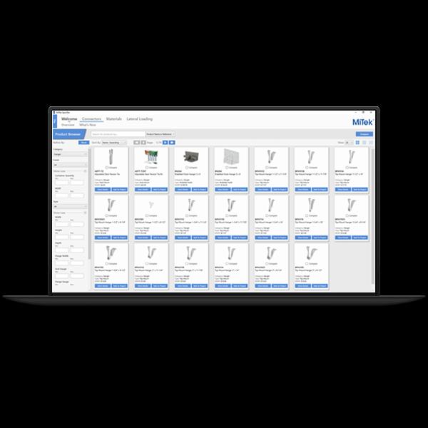 Specifier software